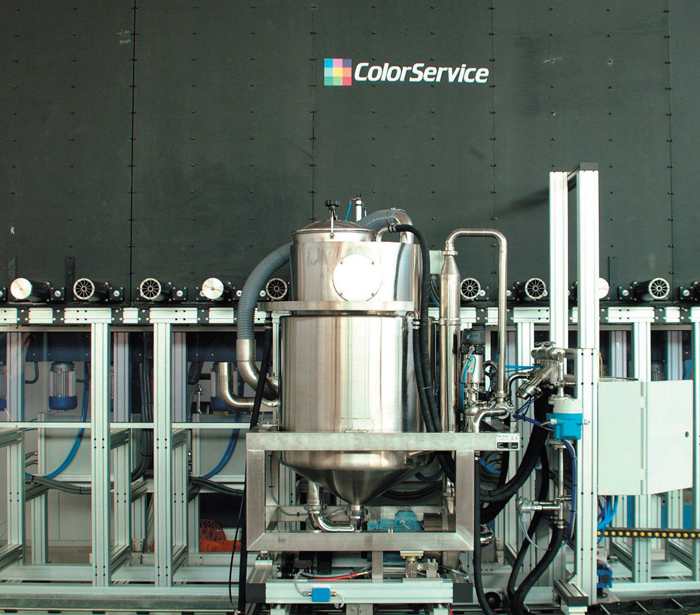 DISSOLVING SYSTEM FOR SMALL QUANTITIES