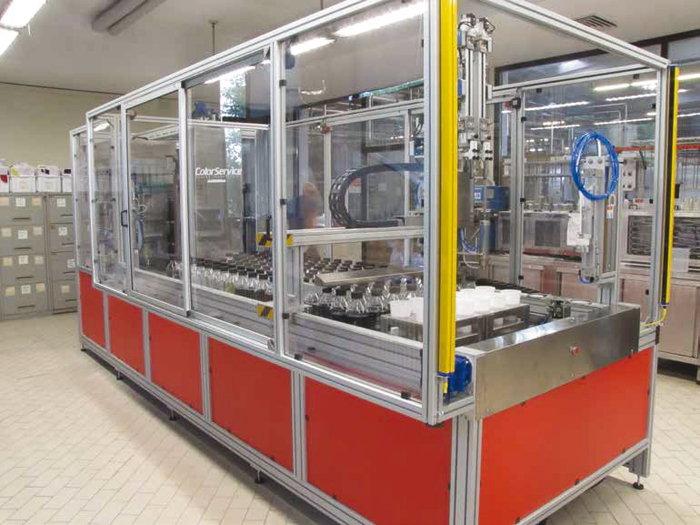 Automatic Chemical Dispensers ~ Laboratory dosing system colorservice
